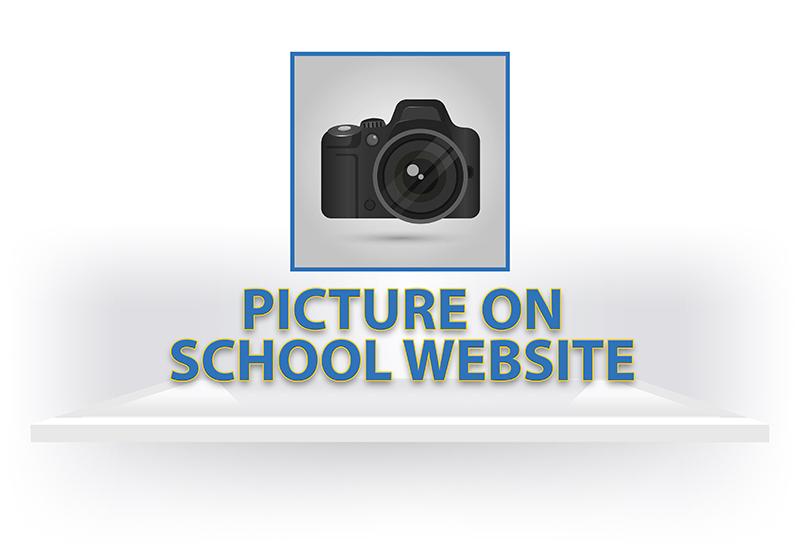 Picture on School Website