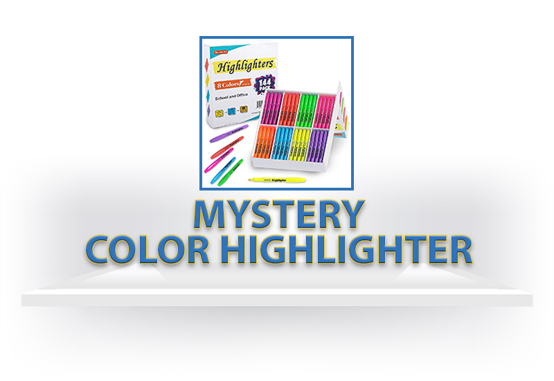 One Mystery Color Highlighter