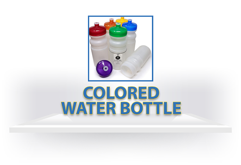 Colored Water Bottle